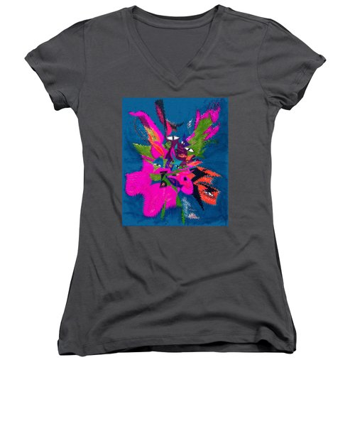 Underwater Feline Women's V-Neck