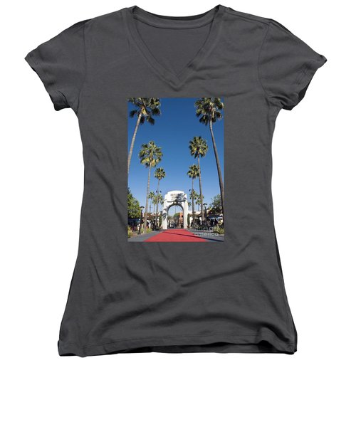 Universal Studios Red Carpet Women's V-Neck (Athletic Fit)
