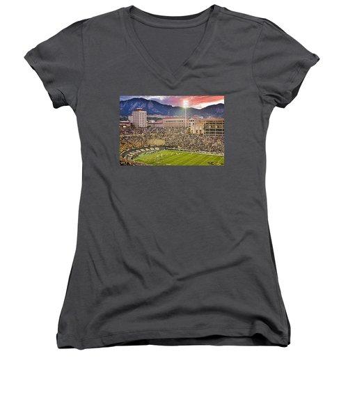 University Of Colorado Boulder Go Buffs Women's V-Neck