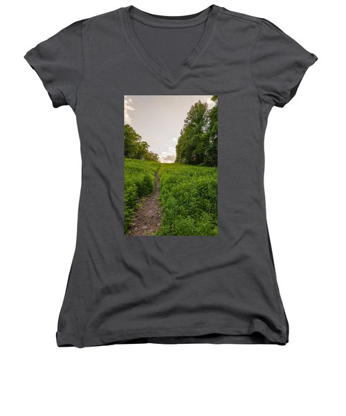 Up Hill Women's V-Neck