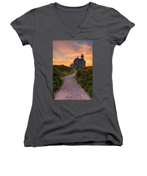 Up To The Light Women's V-Neck