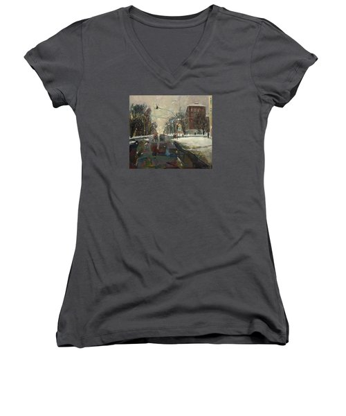 Urban Crossroad Women's V-Neck T-Shirt