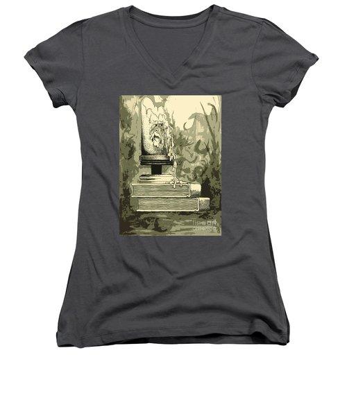 Bougie Women's V-Neck T-Shirt