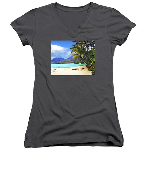 View From Waicocos Women's V-Neck