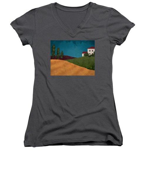 Villa I Women's V-Neck T-Shirt