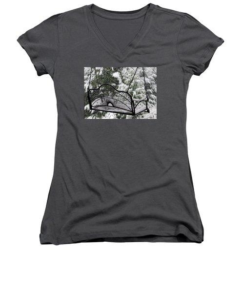 Waiting For Spring Women's V-Neck T-Shirt