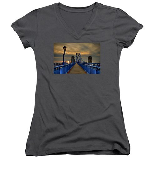 Walk With Me Women's V-Neck T-Shirt