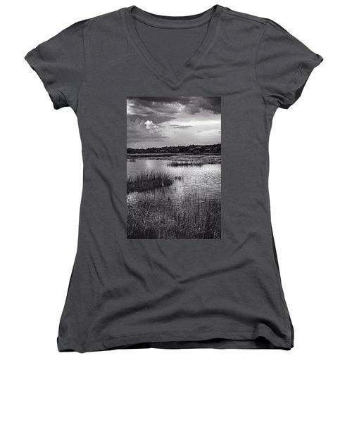 Watching Time Women's V-Neck