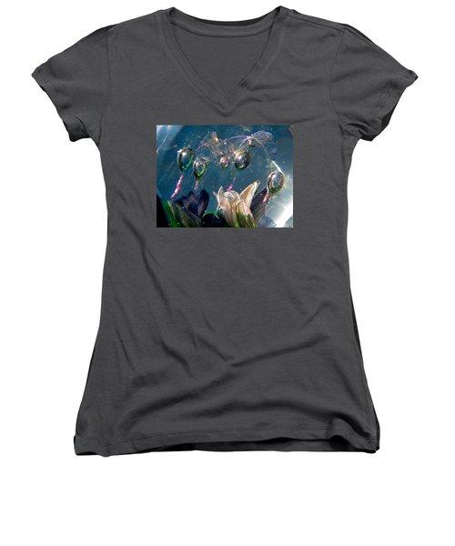 Watercolors Women's V-Neck T-Shirt