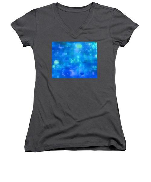 Waterfall Women's V-Neck T-Shirt