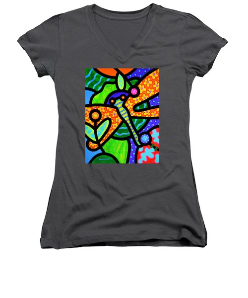 Watergarden Women's V-Neck (Athletic Fit)