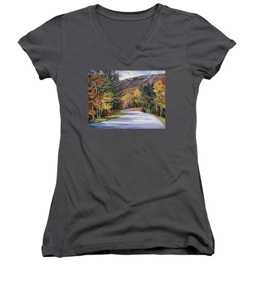 Waterville Road New Hampshire Women's V-Neck
