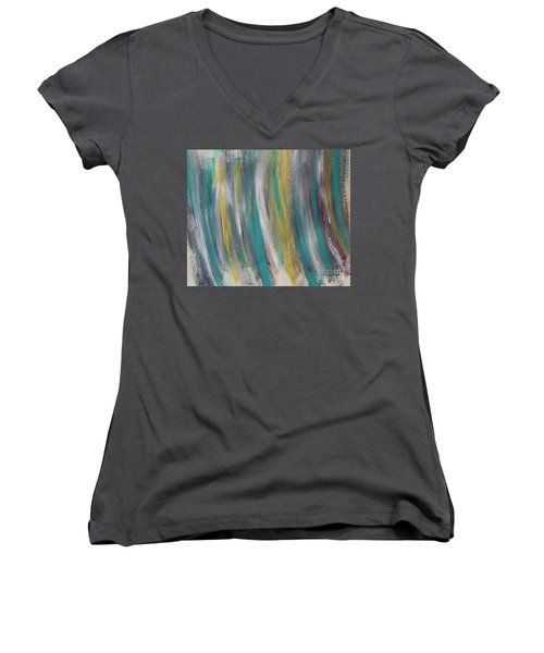 Watery Women's V-Neck T-Shirt
