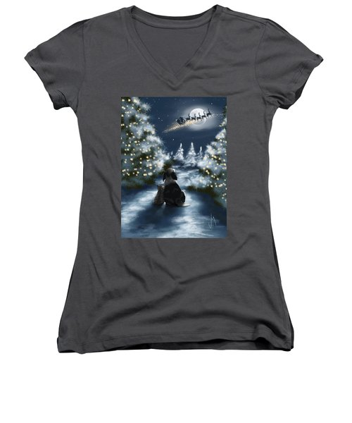 We Are So Good Women's V-Neck T-Shirt (Junior Cut) by Veronica Minozzi