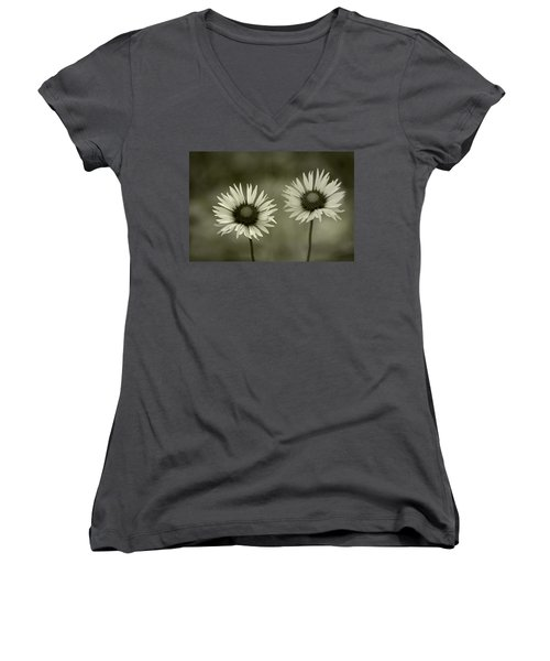 We Are Two Of A Kind Women's V-Neck