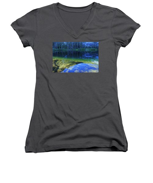 Welcome To Eagle Lake Women's V-Neck