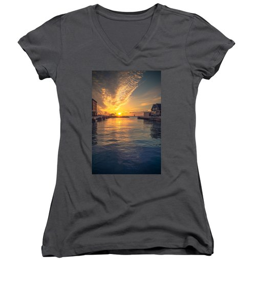 West Slip Surprise Women's V-Neck
