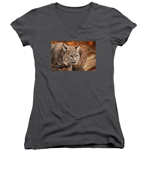 What A Face Women's V-Neck T-Shirt (Junior Cut)
