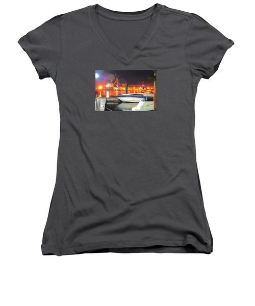 What Are You Looking At Women's V-Neck T-Shirt
