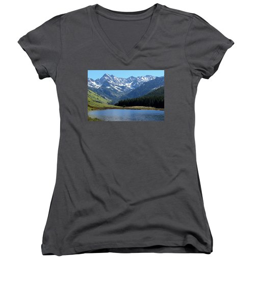 Beautiful Colorado Women's V-Neck (Athletic Fit)