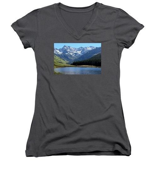 Beautiful Colorado Women's V-Neck T-Shirt
