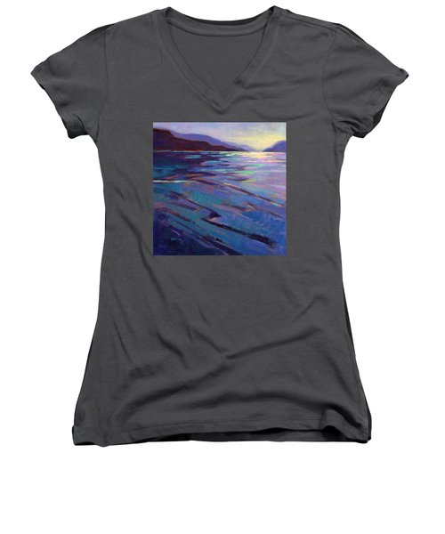 Where The Whales Play 3 Women's V-Neck