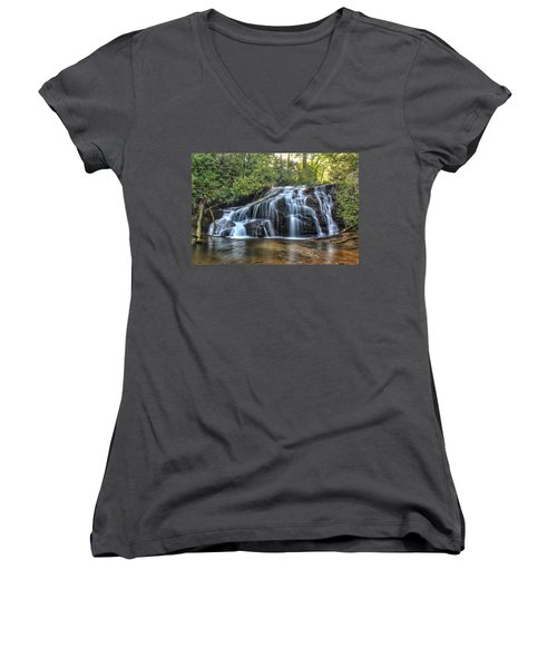 White Owl Falls Women's V-Neck