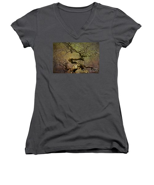 Wicked Tree Women's V-Neck T-Shirt