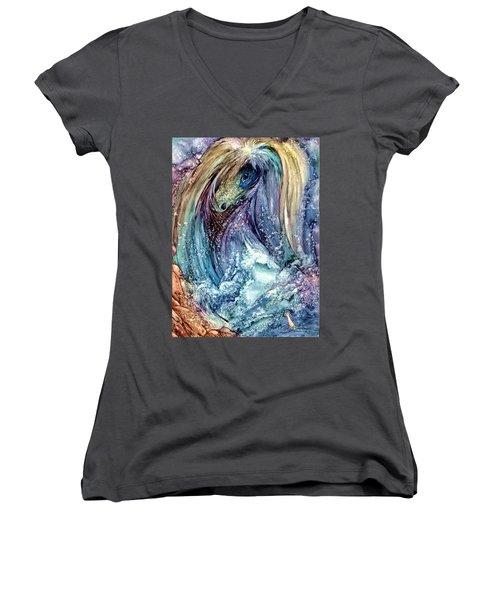 Wild Mother Nature Women's V-Neck T-Shirt