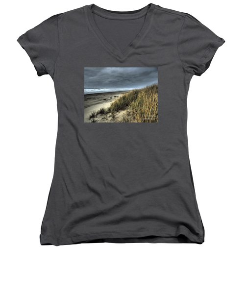 Windswept Women's V-Neck (Athletic Fit)