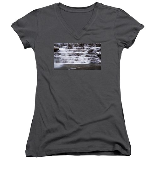 Winter Fall Women's V-Neck (Athletic Fit)