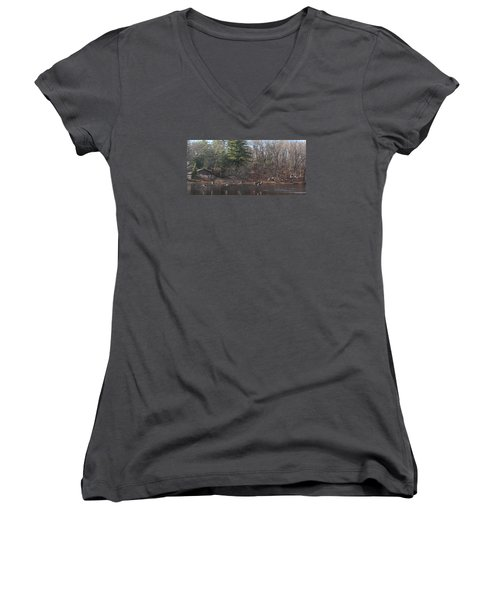 Winter Flight Women's V-Neck (Athletic Fit)