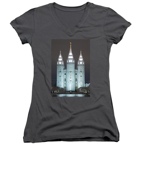 Winter Reflection Women's V-Neck