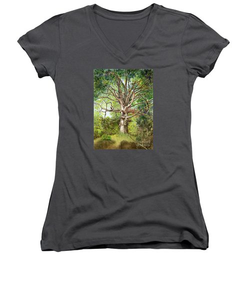 Wisdom Women's V-Neck T-Shirt