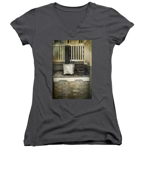 Work Is Done Women's V-Neck