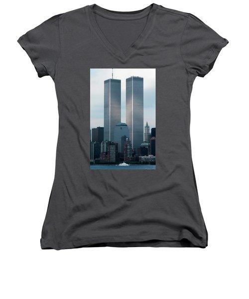 World Trade Center Women's V-Neck (Athletic Fit)