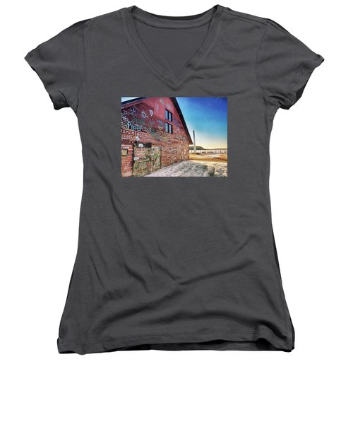 Writing On The Wall Women's V-Neck