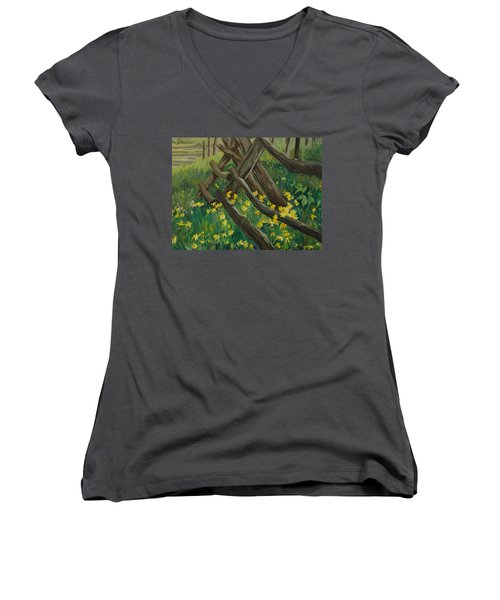 Wyoming Summer Women's V-Neck