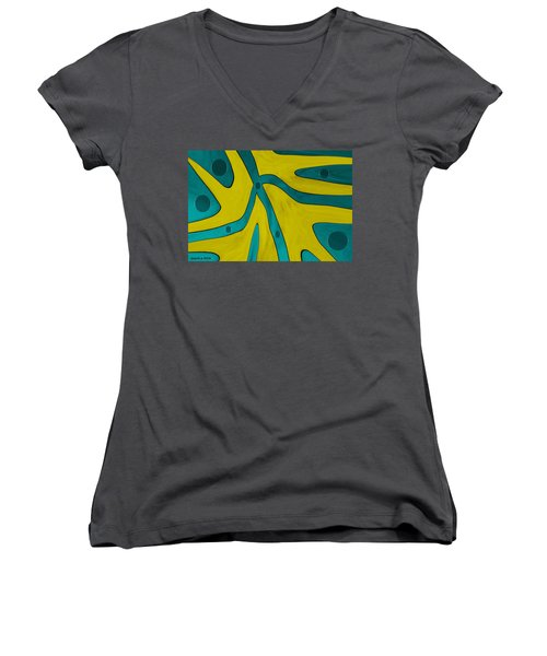 Yellow People Women's V-Neck T-Shirt