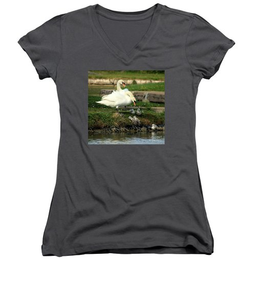 You Can Do It Women's V-Neck (Athletic Fit)
