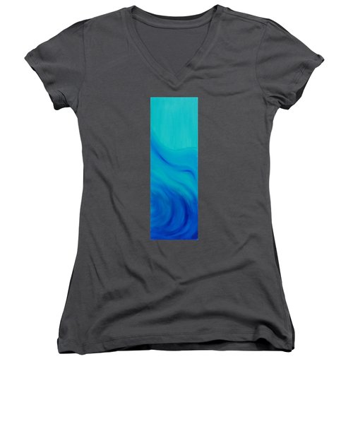 Your Wave Women's V-Neck (Athletic Fit)