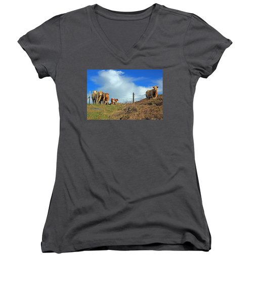 Youth In Defiance Women's V-Neck