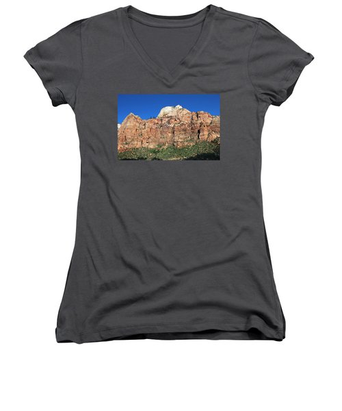 Zion Wall Women's V-Neck