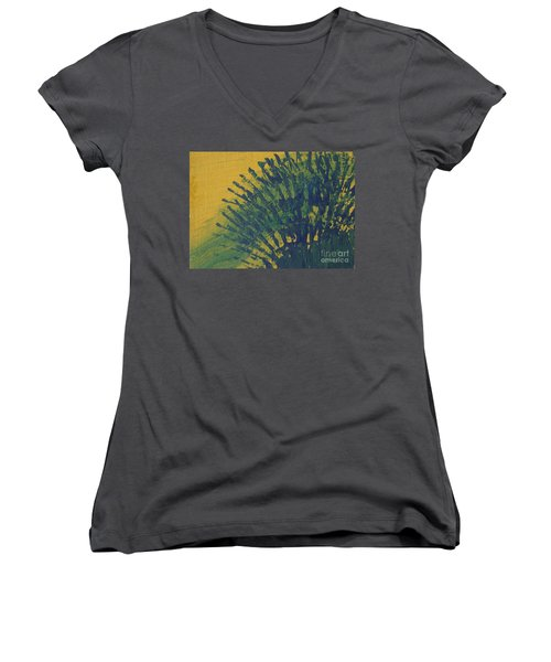 Fanfare Women's V-Neck T-Shirt (Junior Cut)