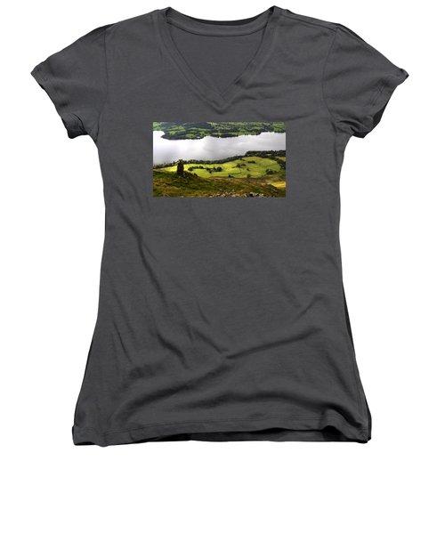 Lake District  Women's V-Neck T-Shirt