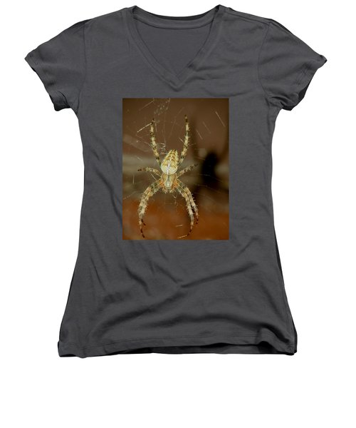 On The Run Women's V-Neck T-Shirt