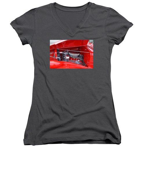 1938 Chevy Make-over Women's V-Neck T-Shirt (Junior Cut) by Paul Mashburn