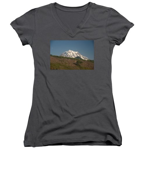 Mt Rainier Women's V-Neck (Athletic Fit)