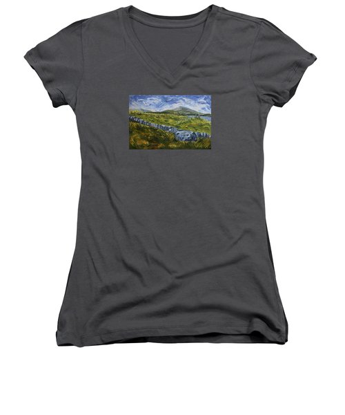 A Donegal Day Women's V-Neck (Athletic Fit)