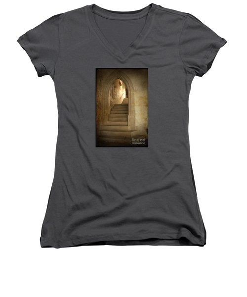 All Experience Is An Arch Women's V-Neck